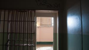 An open prison cell